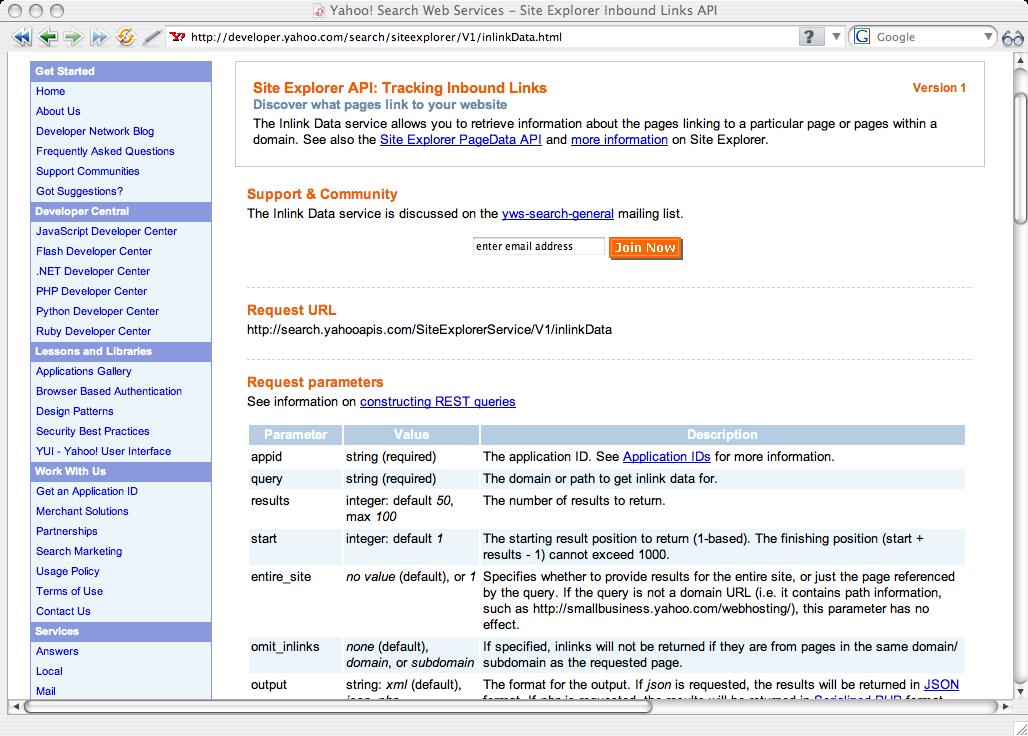 REST Describe & Compile Documentation